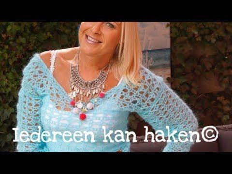 Iedereen Kan Haken Blue Curacao Truitje Leren Haken Nederlands