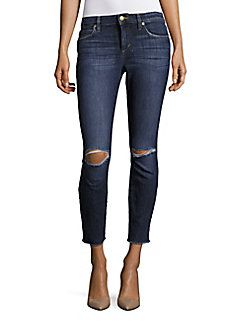 Joe's - Distressed Five-Pocket Jeans