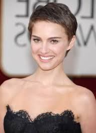 Image result for pixie cut thick hair