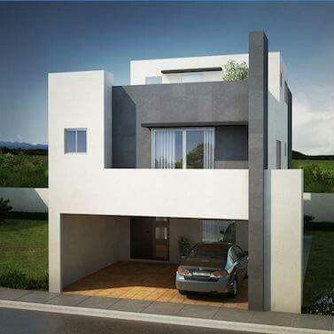 Fachadas de casas ideas pinterest fachadas casas y for Remodelar casa pequena