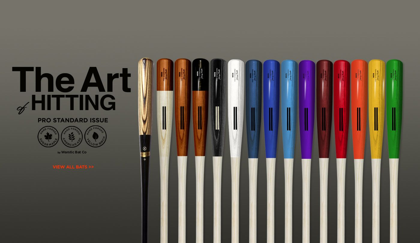 Warstic Wood Bat Co | Ash Baseball Bats | Maple Baseball Bats
