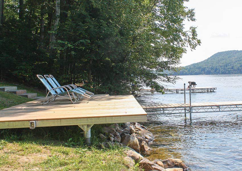 Shoreside Platforms Deck Areas Walkways Garden Stairs Platform Deck Deck
