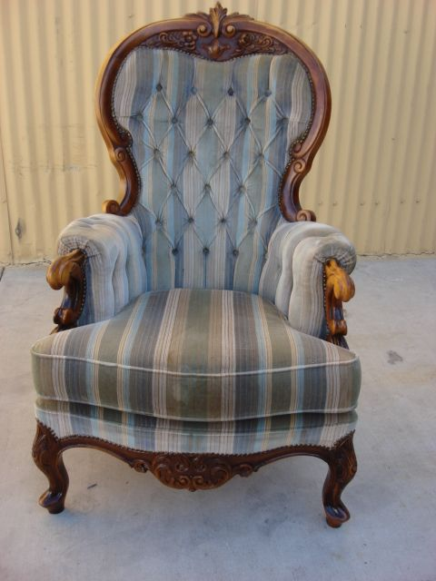 Antique Victorian Carved Arm Chair Antique Parlor Chair Antique Furniture - Antique Victorian Carved Arm Chair Antique Parlor Chair Antique