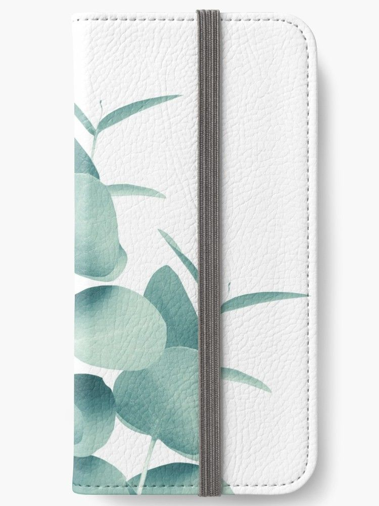 big sale aefa3 bf6ee Eucalyptus Leaves Green White #1 #foliage #decor #art ' iPhone ...
