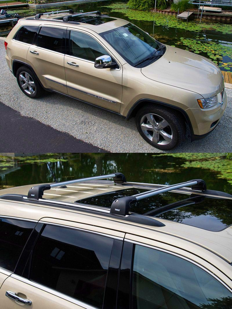Thule Aeroblade Edge Roof Rack Fixed Mounting Points Flush