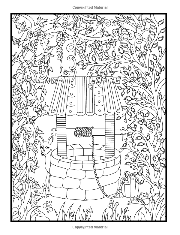 Hidden Garden An Adult Coloring