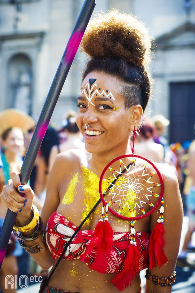 RIOetc | Índia guerreira no Carnaval do Rio