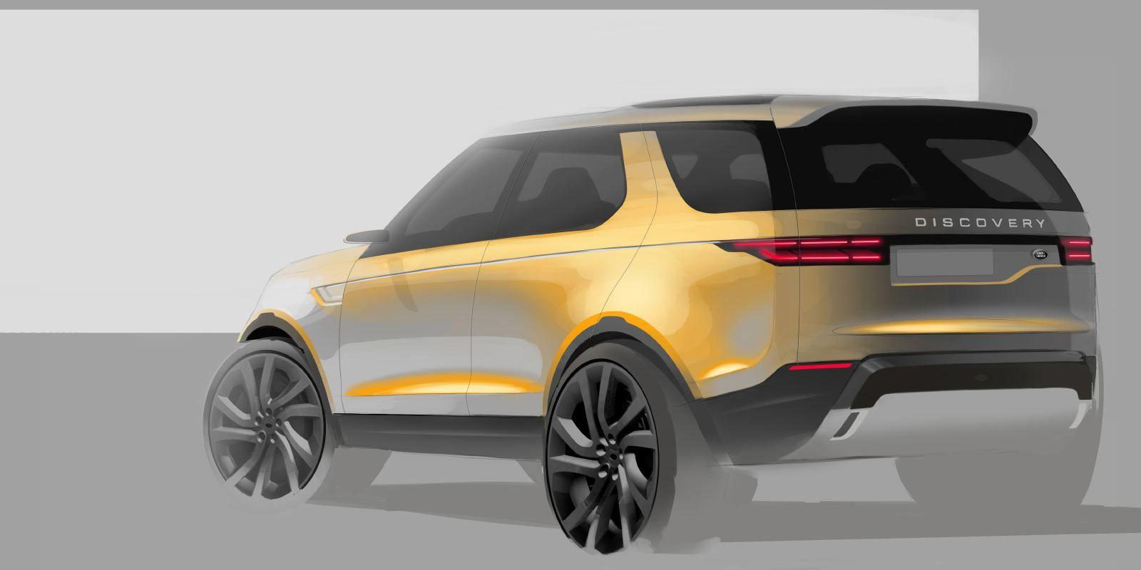 Land Rover Discovery Sport Concept Sketch | Car design ...
