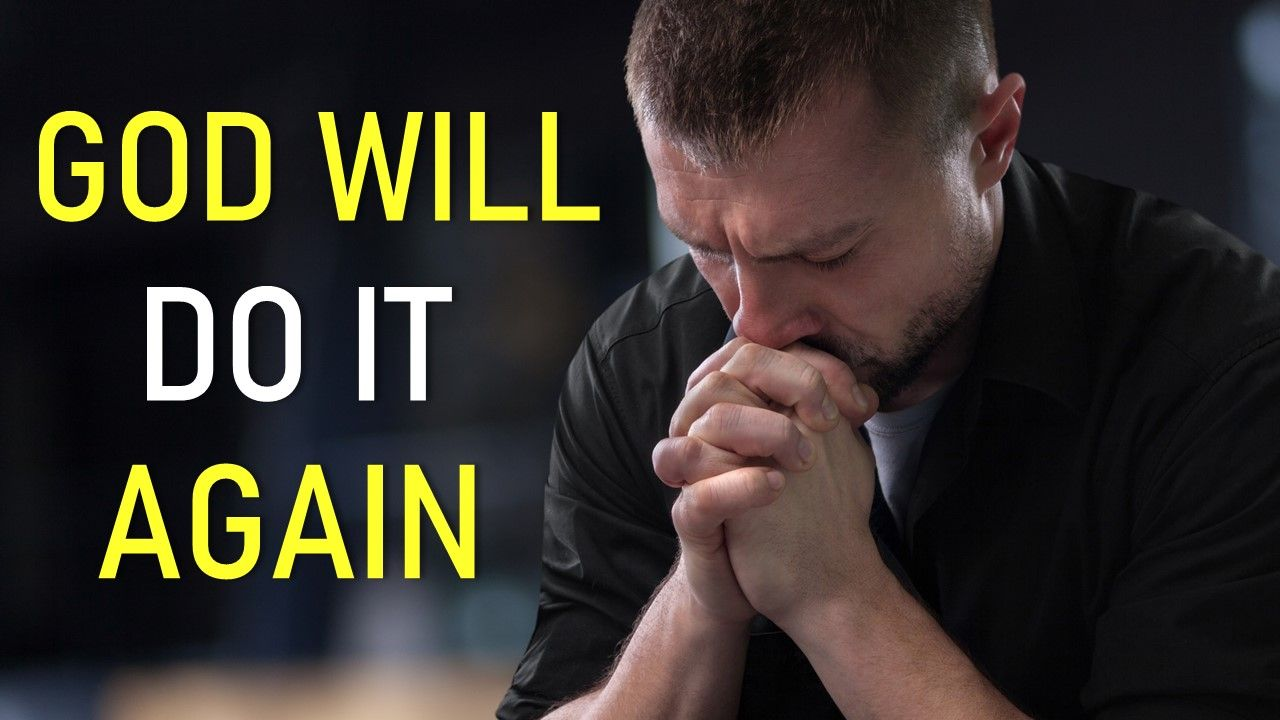 God will do it again join pastor sean live sunday 5pm