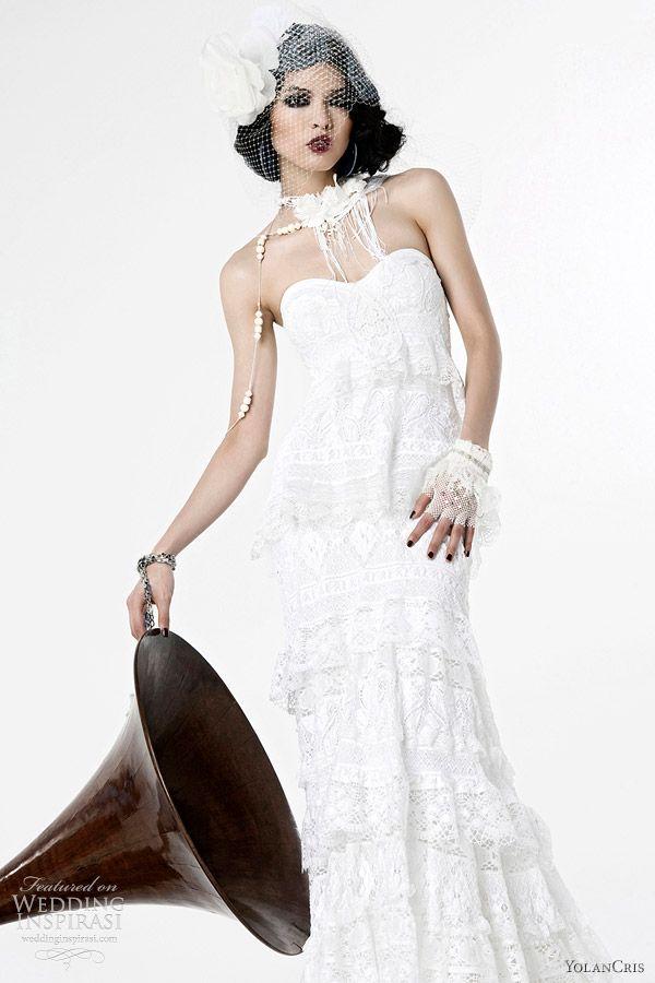 YolanCris Wedding Dresses 2012 Lumière Bridal Collection | Wedding Inspirasi