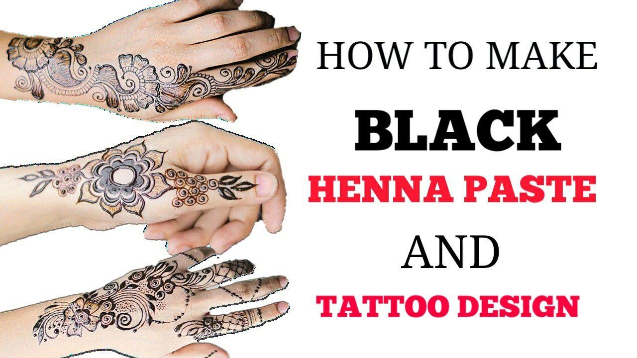 Diy Henna Paste Henna Paste Henna Tattoo Diy Diy Henna
