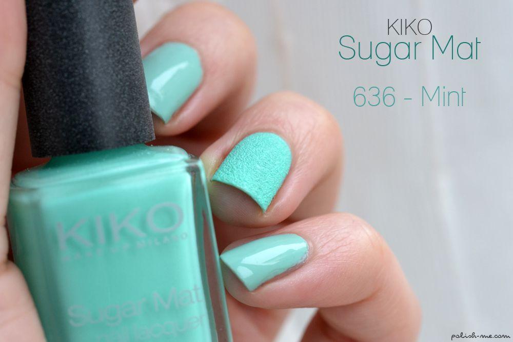 Kiko Sugar Mat Mint