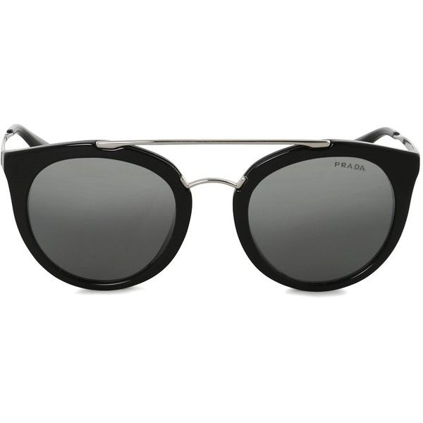 9cc2812778a ... italy shop prada black cinema 23s sunglasses liked on polyvore  featuring accessories eyewear sunglasses 0a295 be32c ...