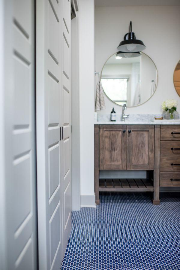 Maplewood Eclectic Blue Bathroom Tile Blue Tile Bathroom Floor