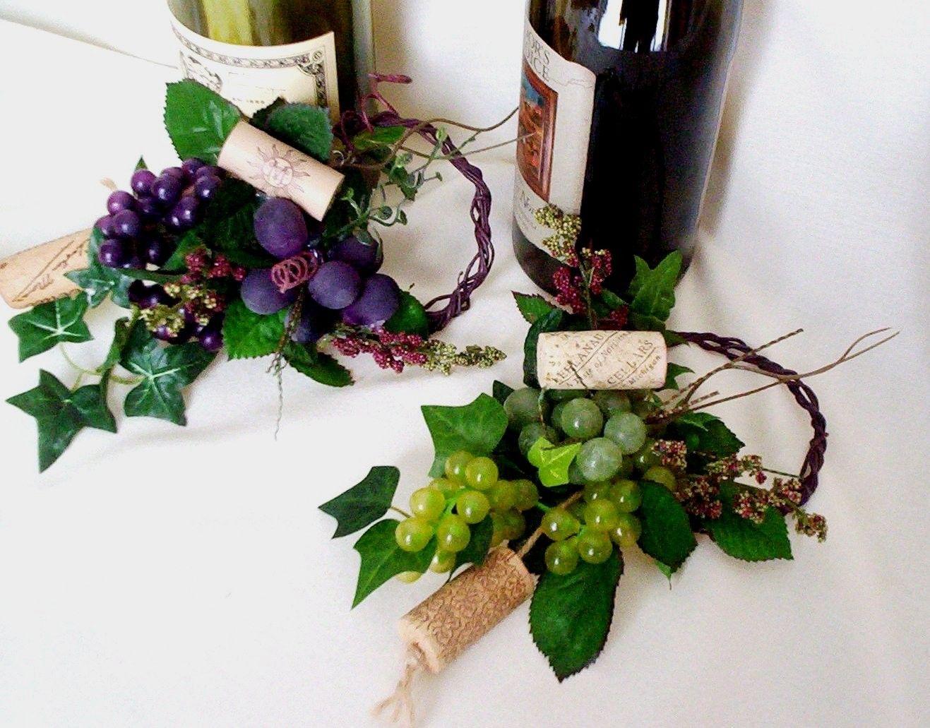 Wedding Centerpieces Vineyard Winery Decor Wine Bottle