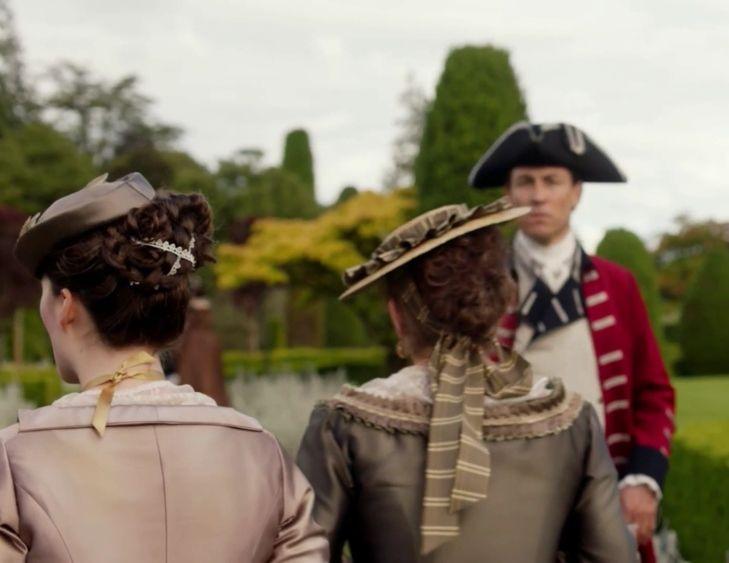 "Black Jack Randall (Tobias Menzies) in Episode 205 ""Untimely Resurrection"" of Outlander Season Two on Starz"