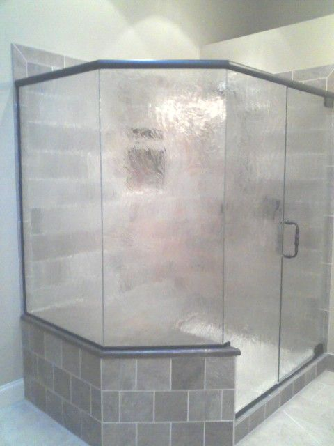 shower door with privacy glass | GlassTub Enclosure