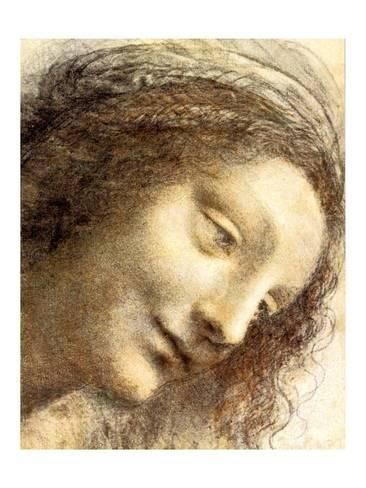 Giclee Print: Virgin Wall Art by Leonardo da Vinci : 24x18in | Products