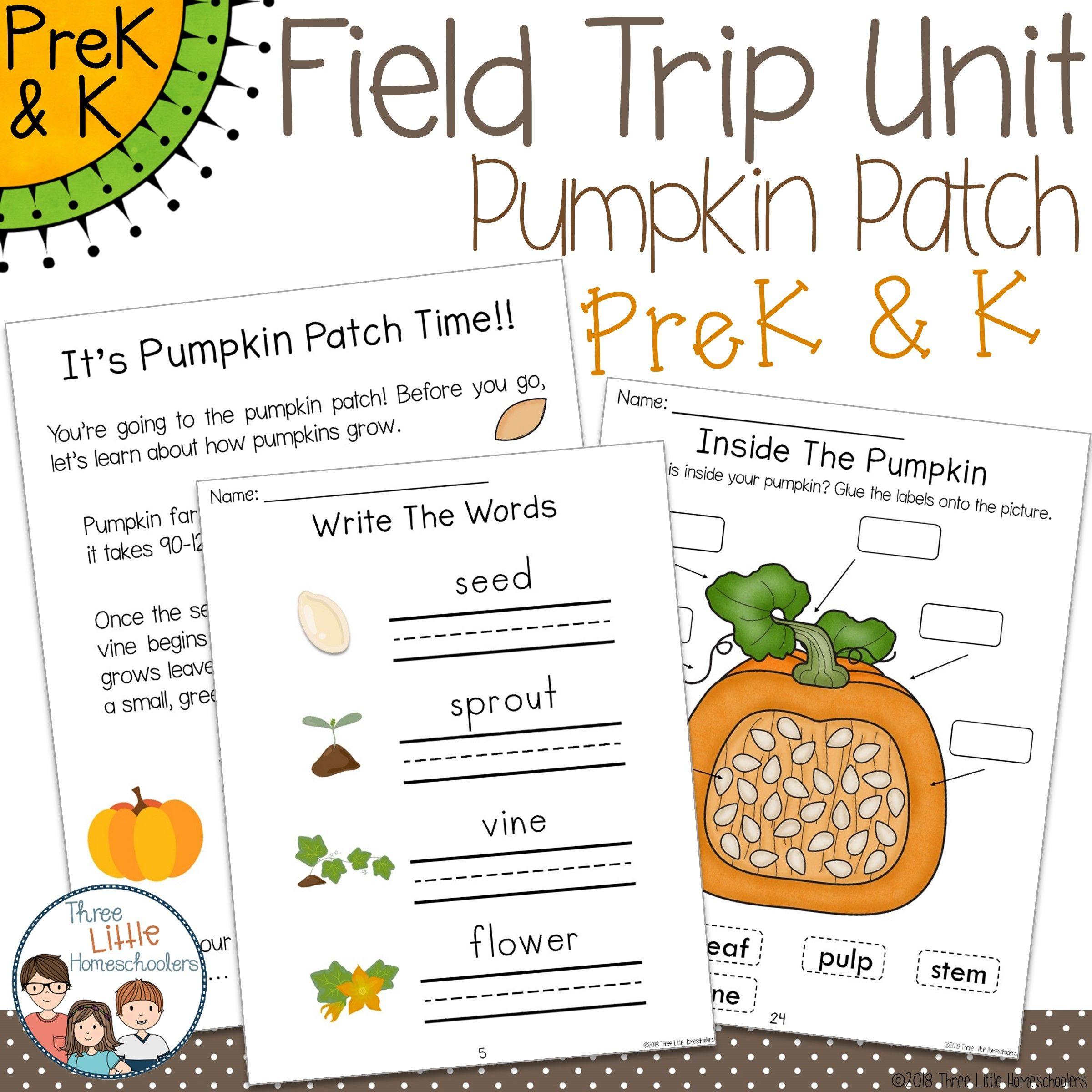 Pumpkin Patch Field Trip Unit