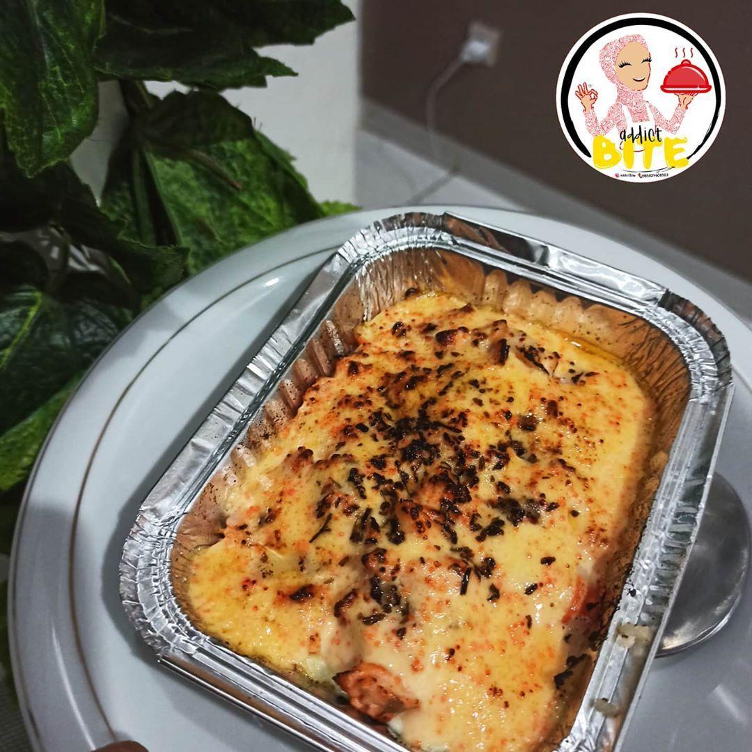 Salmon Mentai Rice Resep Salmon Makanan