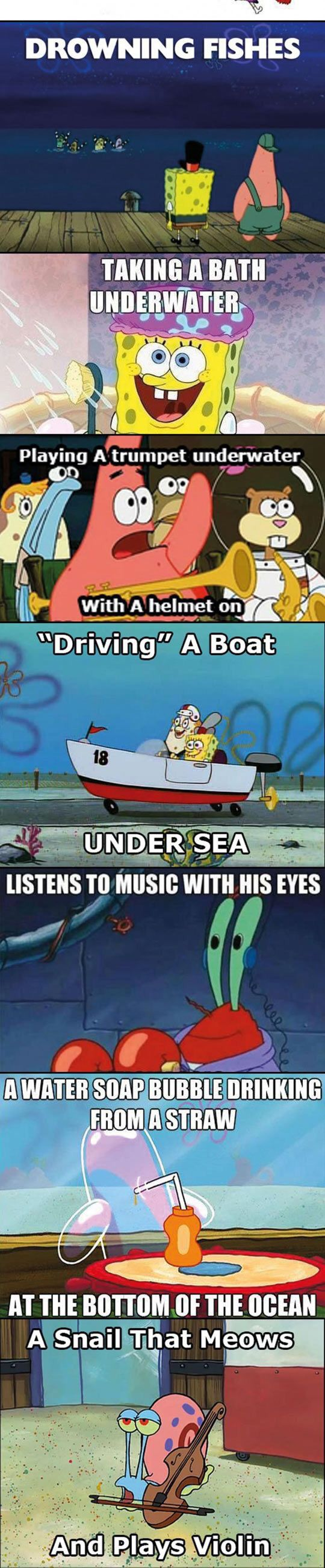 Hey thats spongebob logic for ya