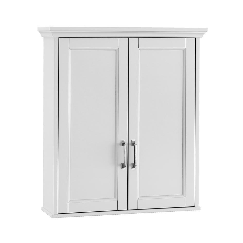 Foremost Ashburn 23-1/2 in. W x 27 in. H x 8 in. D Bathroom Storage ...
