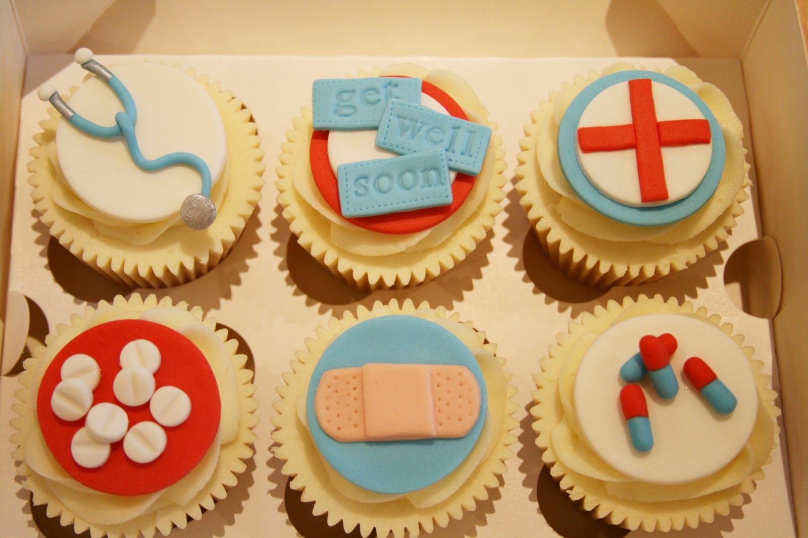 Get well soon gift adorable cupcakes get well gifts