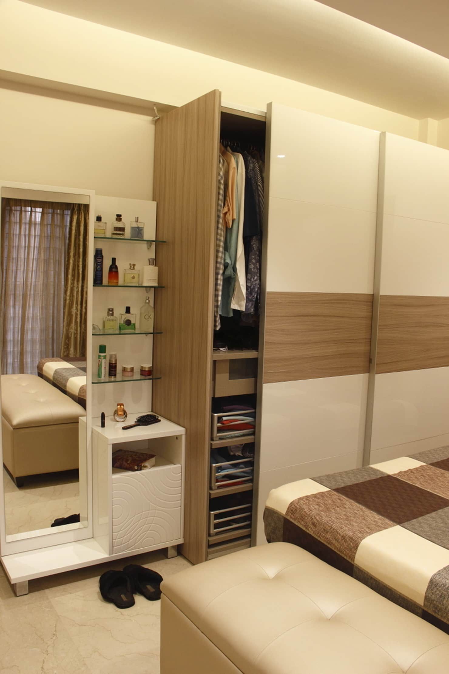 .. minimalist bedroom by neha changwani minimalist (With ...