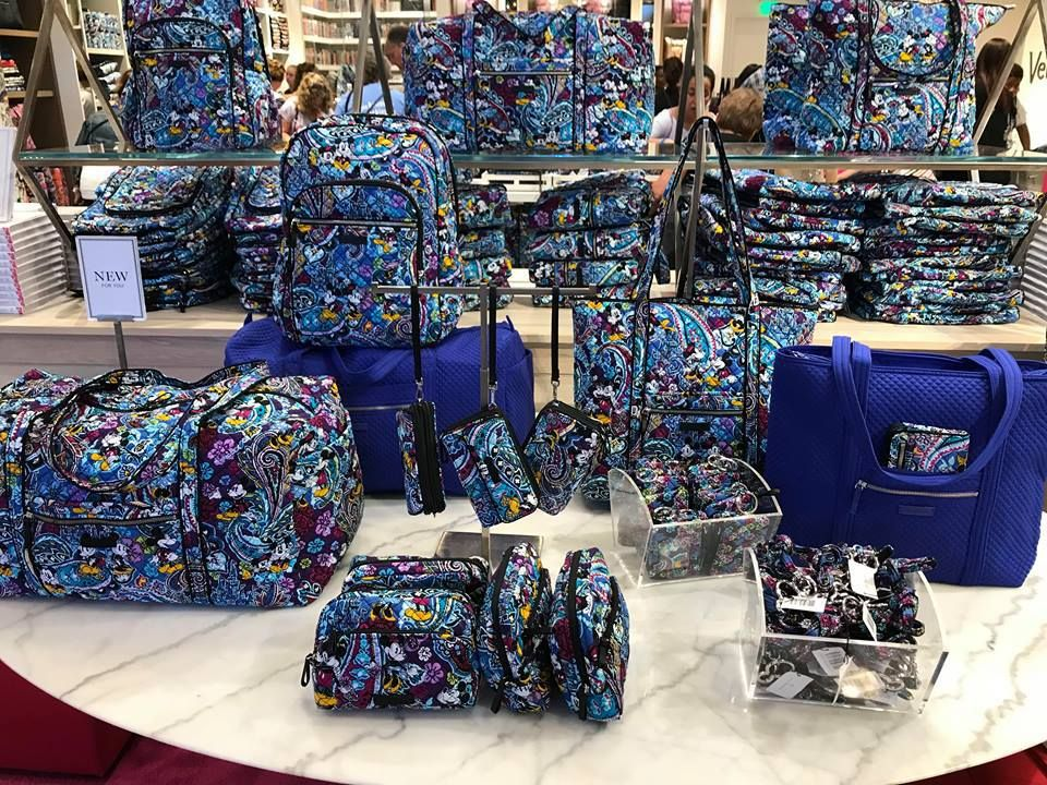 e049c43c10 The new Disney x Vera Bradley Collection is now available at Disney  Springs! The new Mickey s Paisley Celebration items have been very  anticipated for quite ...