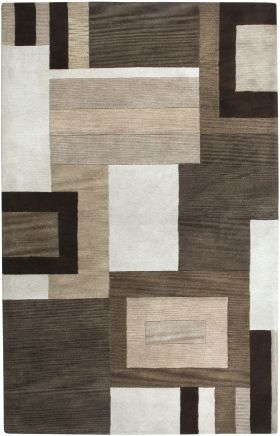 Contemporary Rugs Volare Brown 12481