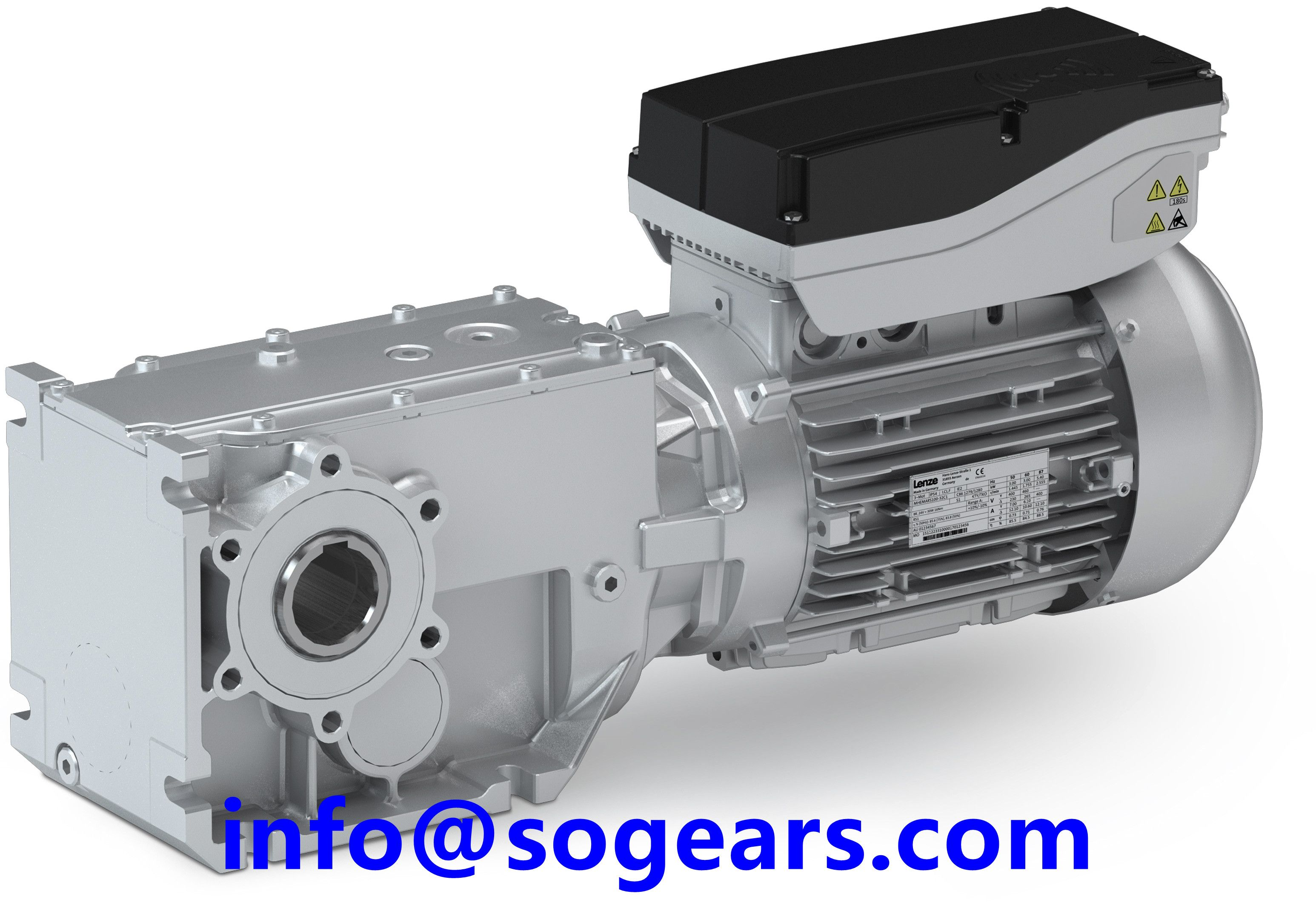 1:80 Ratio Speed Reducer Gearbox | Gear motor reducers from China