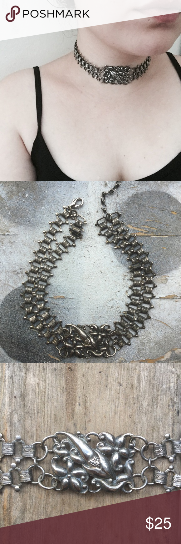 Spotted while shopping on Poshmark: Unique Choker Necklace ✨! #poshmark #fashion #shopping #style #Jewelry