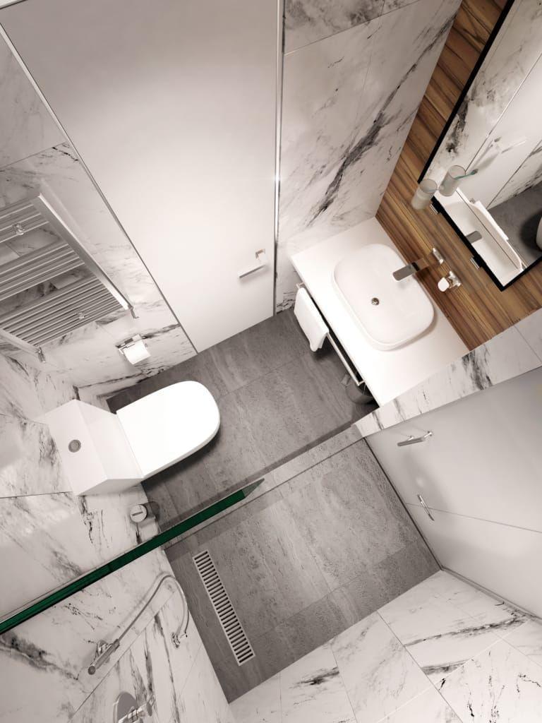 Photo of Minimalistischen Badezimmer minimalistischen Stil y.f.architects
