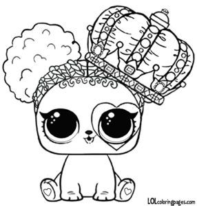 Lol Surprise Doll Coloring Pages Heart Barker Coloring Page Lol