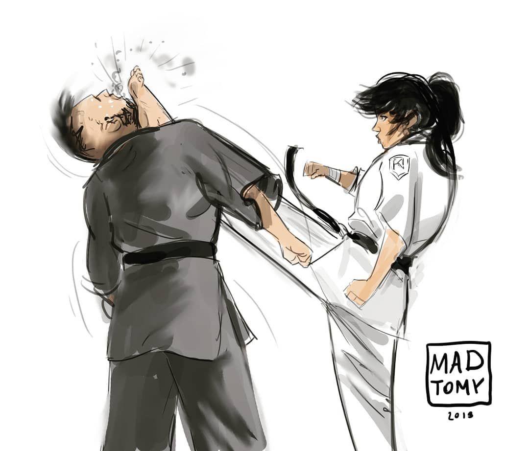 285 Likes 4 Comments Tomy Mad Madtomy On Instagram Karate Karate Frontkick Brutal Kick Kickt Martial Arts Women Female Martial Artists Karate Girl