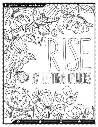 Coloring Pages With Affirmation For Meditation Practice Self Care