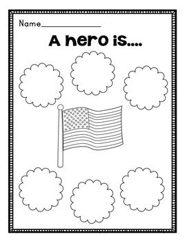 MEMORIAL DAY FREEBIE: GRAPHIC ORGANIZER AND WRITING PAPERS