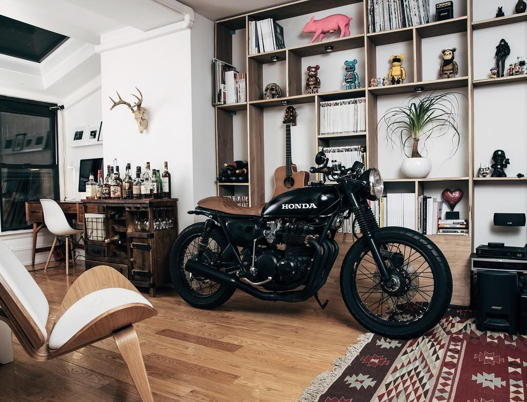 Decoration Maison Moto Dreaming Room Cb500 Home Pinterest Deco Moto