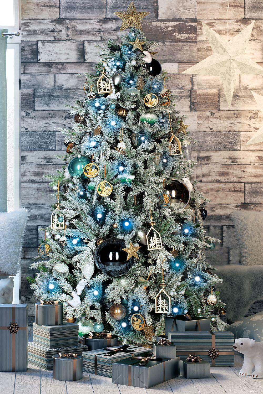 Albero Di Natale Leroy Merlin.Albero Di Natale Artificiale Cervino Verde H 210 Cm Prezzo Online Leroy Merlin Alberi Di Natale Natale Verde