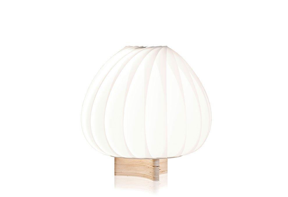 Lampe de table TR12 blanc Rossau, Tom : Lampes de table design Tom Rossau - Design Ikonik