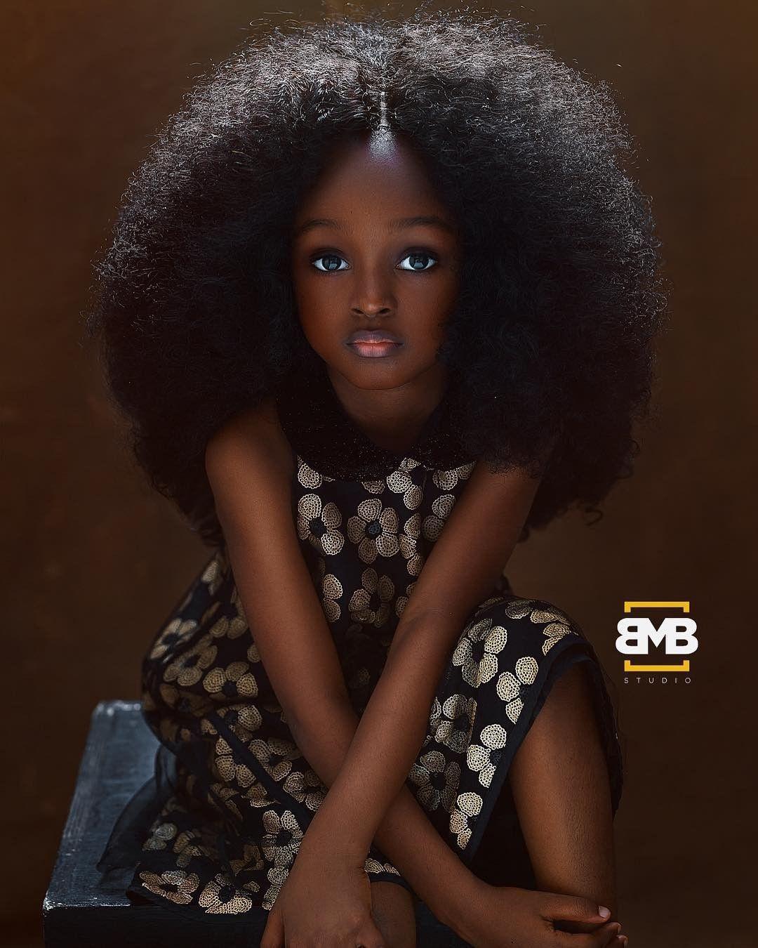 Menina De 5 Anos Da Nigeria E Considerada A Garota Mais Bonita Do