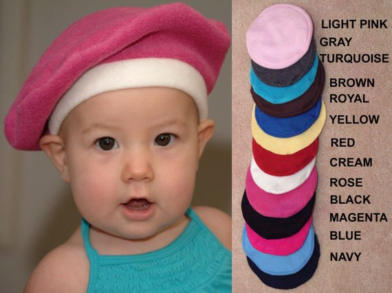 848e1eef Kids French Beret Available in colors for both boys and girls, this French  beret will make your baby, toddler or young child look so adorable.