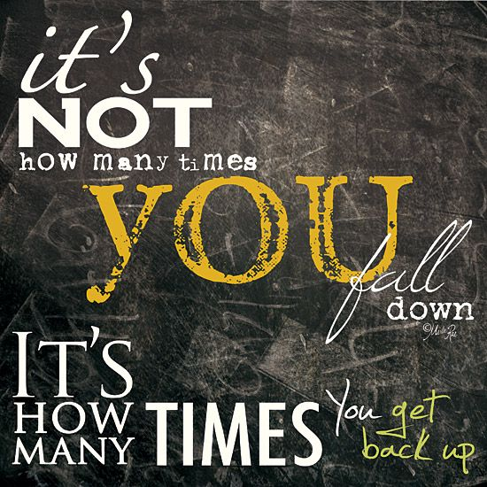"""Get Back Up Quotes: """"Get Back Up"""" """"Stronger Today"""" """"Motivational Quote"""