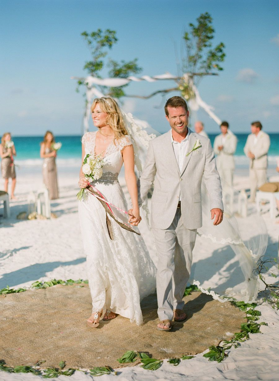 Photography: KT Merry - ktmerry.com  Read More: http://www.stylemepretty.com/2015/01/06/coral-bahamas-destination-wedding/