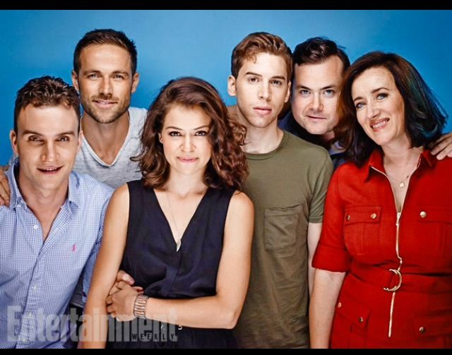 Cast Of Orphan Black Geeking Out Orphan Black Dylan
