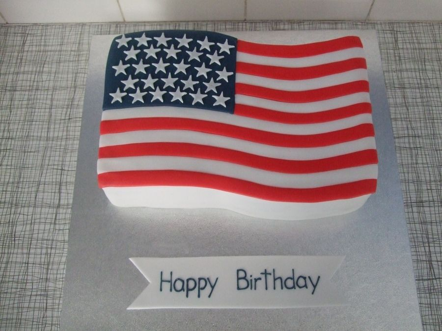 Waving flag cake cake decorating pinterest flags for American flag cake decoration