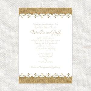 Burlap and lace invitation printable file i do it yourself burlap and lace invitation printable file i do it yourself solutioingenieria Image collections