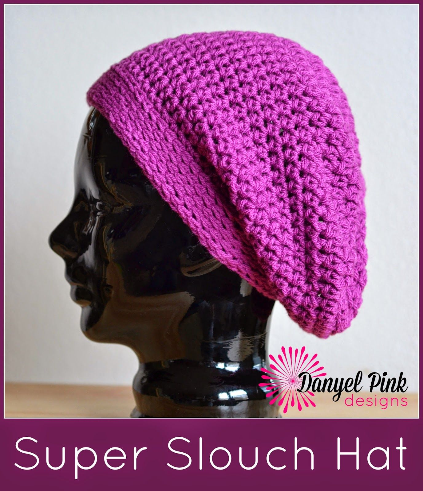 Danyel pink designs free patterns crochet hats pinterest pink
