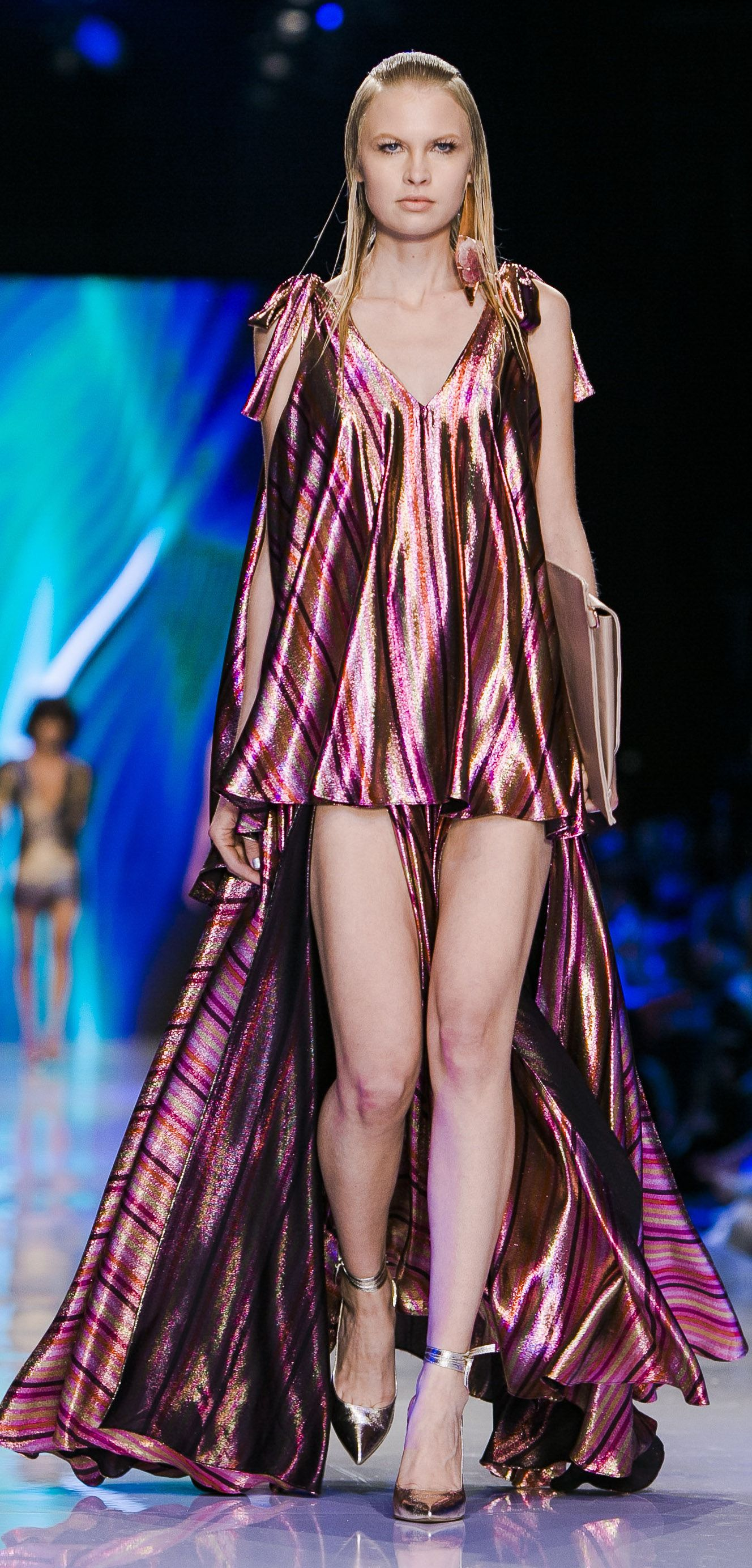 Evening wear ready to wear collection presented at tel aviv fashion