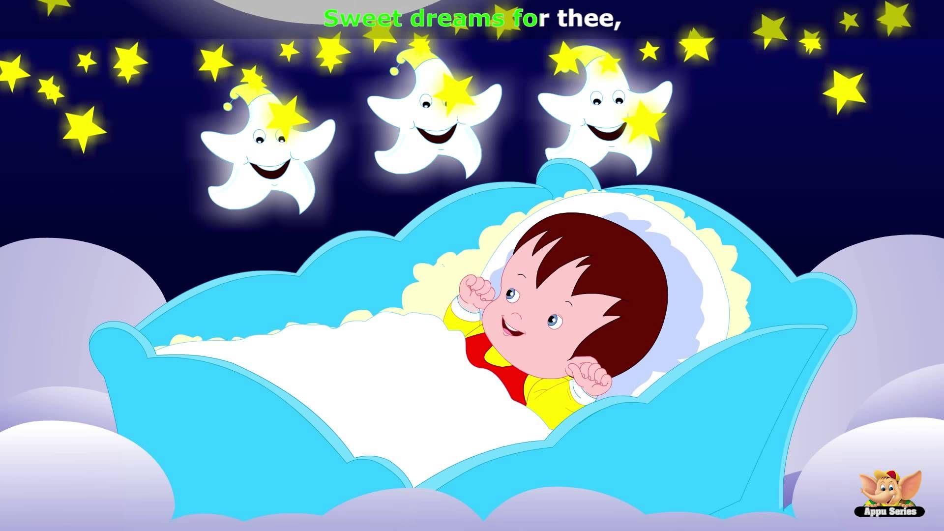 Baby Sleep Nursery Rhyme With Karaoke